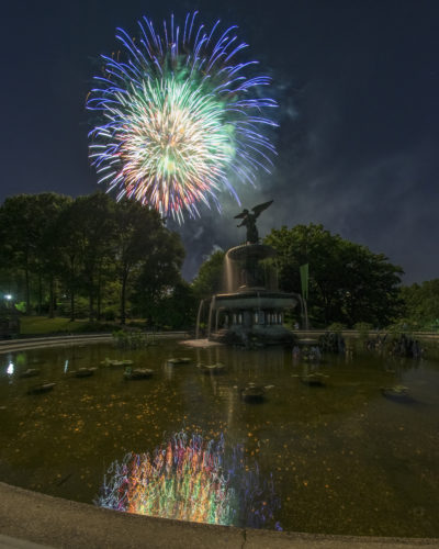 Central Park Fireworks