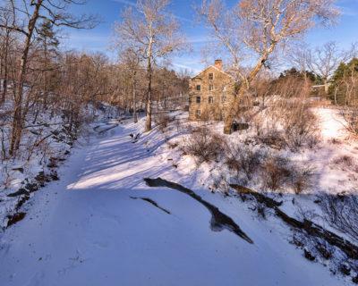 Stone Mill at the NY Botanical Gardens