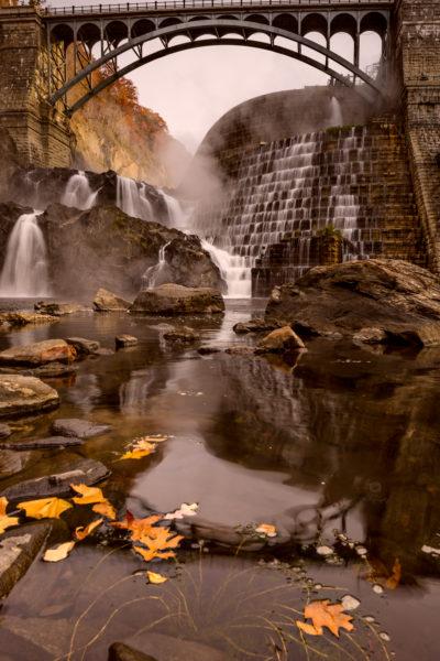 Fall at Croton Dam